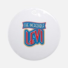 The Incredible Levi Ornament (Round)