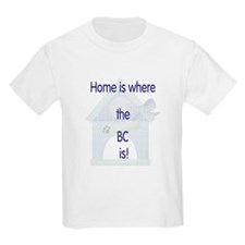 Home is where the BC is Kids T-Shirt