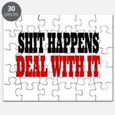 Shit Happens Deal With It Puzzle