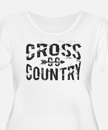 cross country Plus Size T-Shirt
