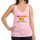 Cheese Womens Racerback Tanktop