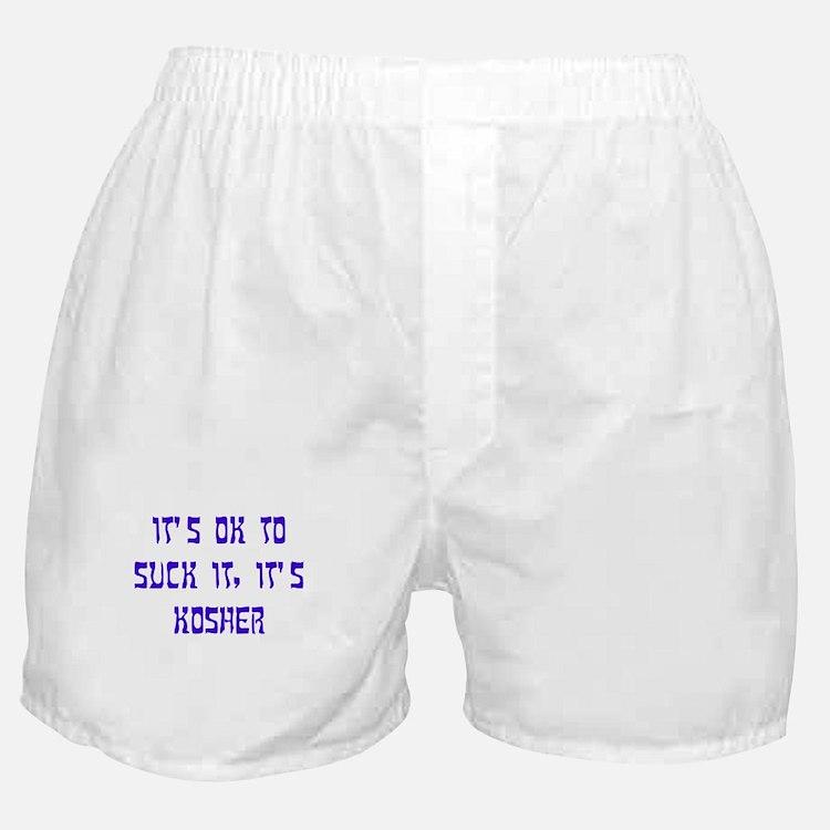 The Kosher Files Boxer Shorts