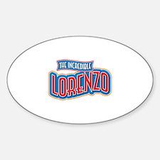 The Incredible Lorenzo Decal