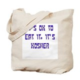 Funny jew Canvas Bags