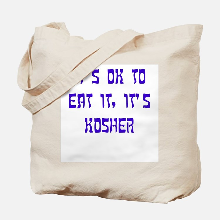 The Kosher Files Tote Bag