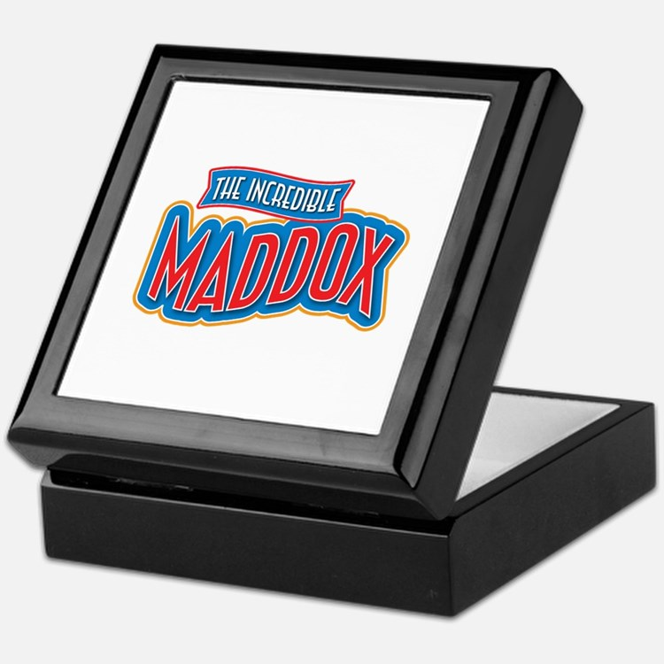 The Incredible Maddox Keepsake Box