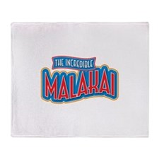 The Incredible Malakai Throw Blanket