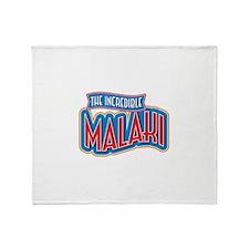 The Incredible Malaki Throw Blanket
