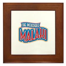 The Incredible Malaki Framed Tile