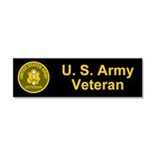 Cute Army rank insignia Car Magnet 10 x 3