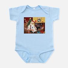 Santa & Amer Eskimo Infant Bodysuit
