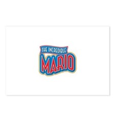 The Incredible Mario Postcards (Package of 8)
