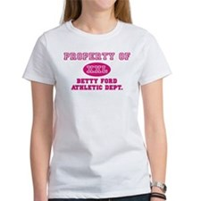 Betty Ford Athletic Dept. Women's Pink T-Shirt