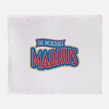The Incredible Markus Throw Blanket
