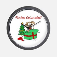 I've been bad,so what? Wall Clock