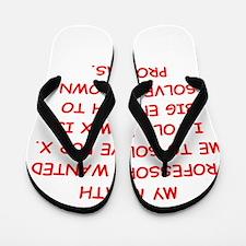 math joke Flip Flops