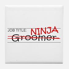 Job Ninja Groomer Tile Coaster