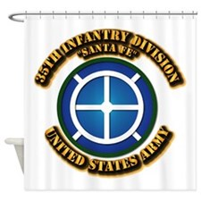 Army - 35th INF - Div - SSI Shower Curtain