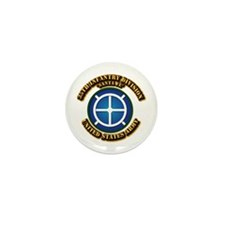 Army - 35th INF - Div - SSI Mini Button (100 pack)