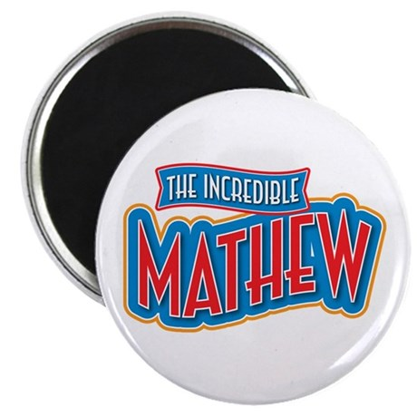 """The Incredible Mathew 2.25"""" Magnet (10 pack)"""
