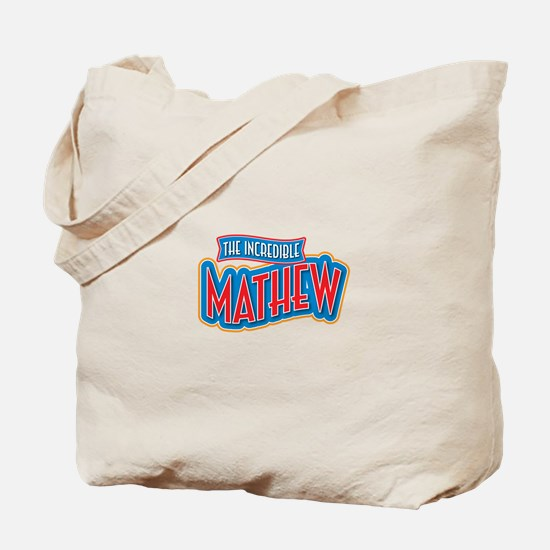 The Incredible Mathew Tote Bag