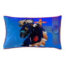 Black Stallion of Morning Pillow Case
