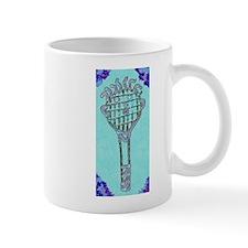 Cute Blue Tennis Racket 47 Designer Mug