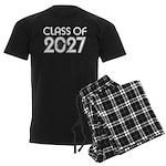 Class of 2027 Grad Men's Dark Pajamas