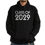 Class of 2029 Grad Hoodie (dark)