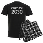 Class of 2030 Grad Men's Dark Pajamas