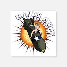 BOMBS AWAY Sticker