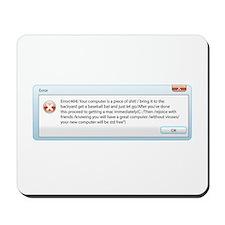 get a mac Mousepad