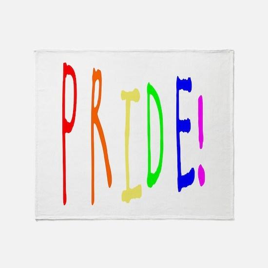 Pride 2 Throw Blanket