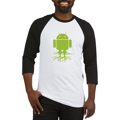 Large Rooted Android Baseball Jersey