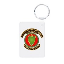 Army - 24th IN DIV - SSI Keychains