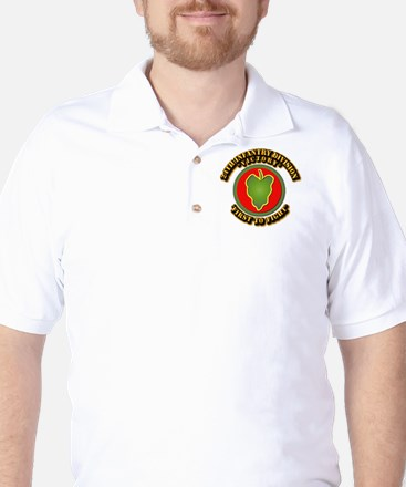 Army - 24th IN DIV - SSI Golf Shirt