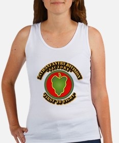 Army - 24th IN DIV - SSI Women's Tank Top