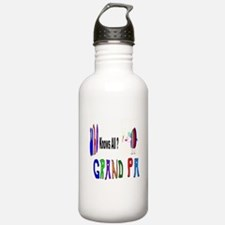 Grandpa Knows All Water Bottle