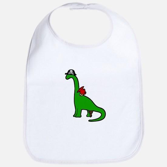 Pirate Dinosaur - Brachiosaurus Bib