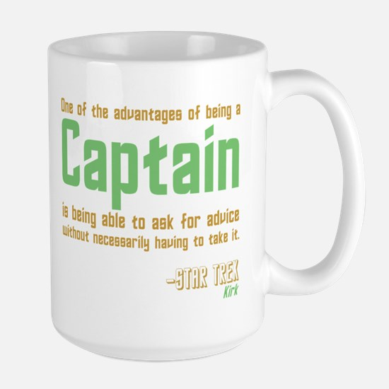 Captain Kirk Quote Mug