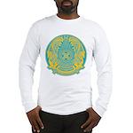 Kazakhstan Coat of Arms Long Sleeve T-Shirt