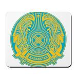 Kazakhstan Coat of Arms Mousepad