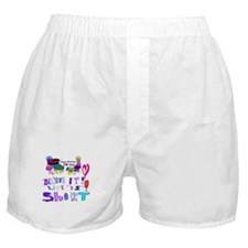Happy Birthday Believe It Boxer Shorts