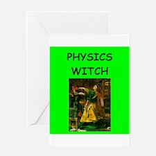 physics Greeting Card