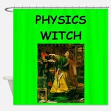 physics Shower Curtain