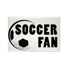 Soccer Fan Rectangle Magnet