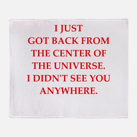 universe Throw Blanket