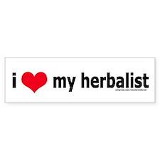 Herbalist Bumper Bumper Sticker