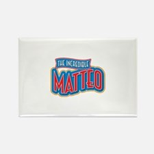 The Incredible Matteo Rectangle Magnet