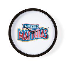 The Incredible Matthias Wall Clock